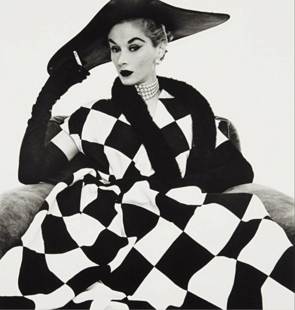 Harlequin fashion by Irving Penn