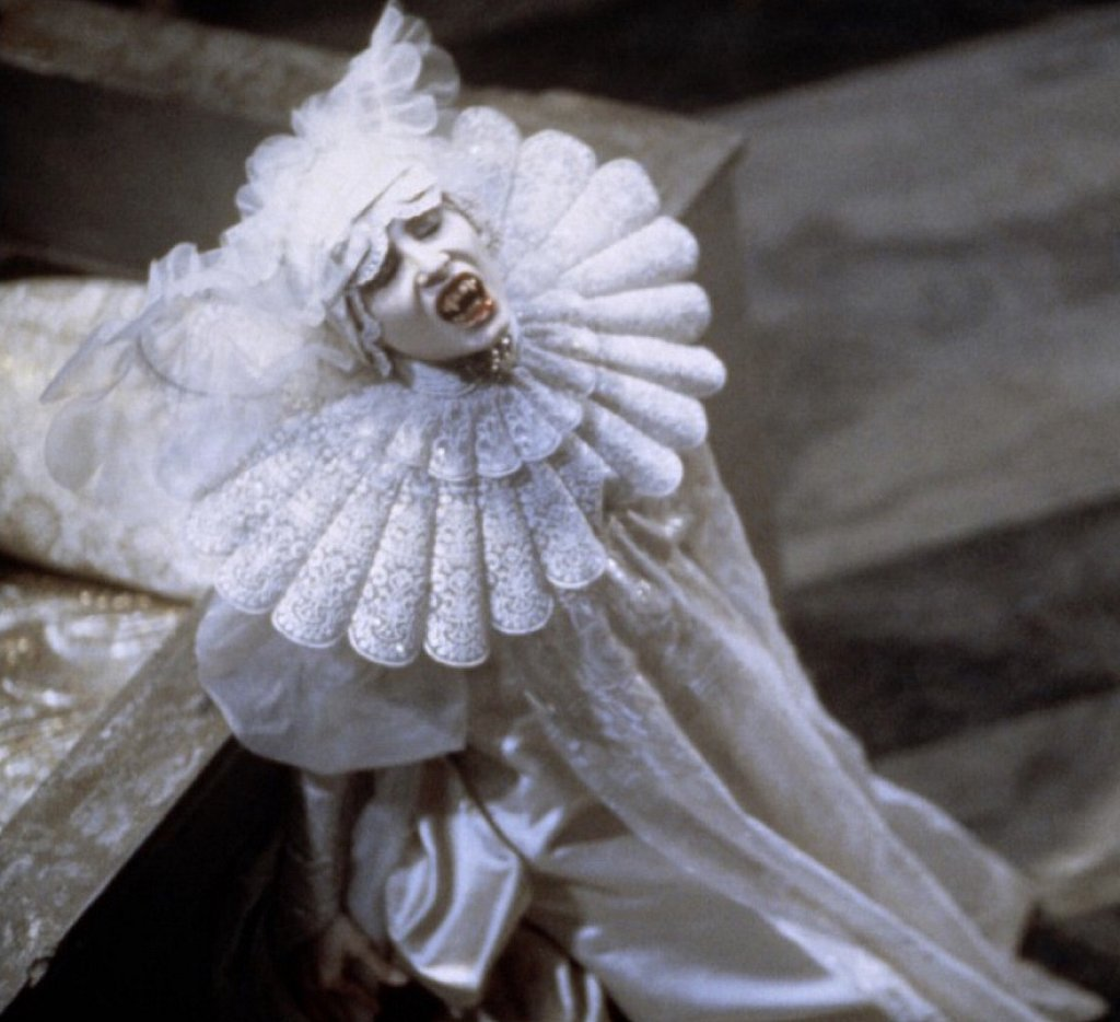 Pierrot inspired costume, Eiko Ishioka for Coppola's Dracula
